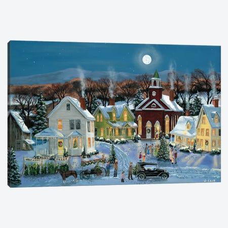 Oh Christmas Tree Canvas Print #BOF89} by Bob Fair Canvas Print