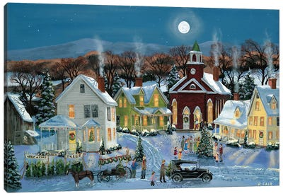 Oh Christmas Tree Canvas Art Print
