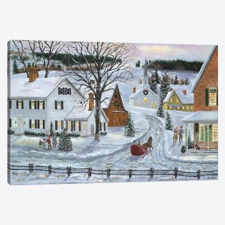 Peaceful Holiday Canvas Print #BOF96} by Bob Fair Canvas Art Print