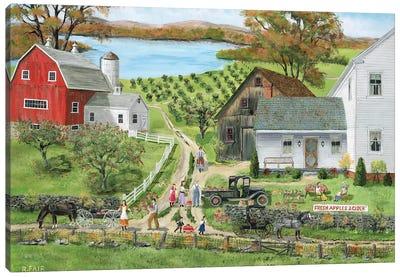 Apple Sale Canvas Art Print