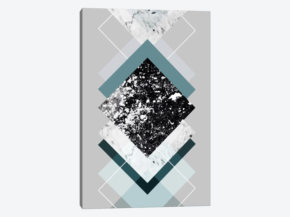 Geometric Textures VIII by Mareike Böhmer 1-piece Canvas Artwork