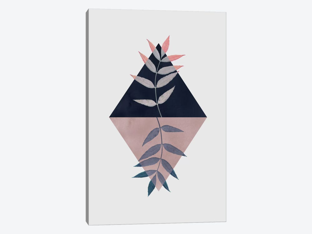 Geometry And Nature III by Mareike Böhmer 1-piece Canvas Art Print