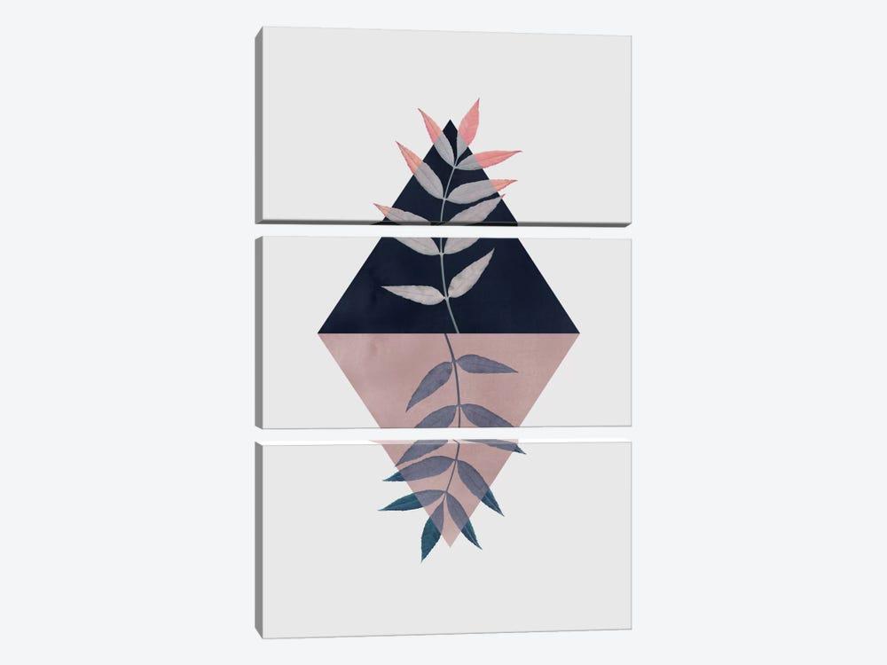Geometry And Nature III by Mareike Böhmer 3-piece Art Print