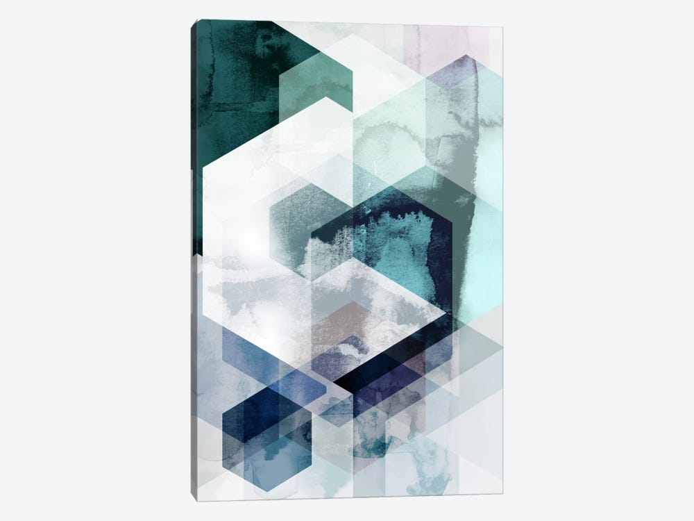 Graphic CLXV by Mareike Böhmer 1-piece Canvas Wall Art