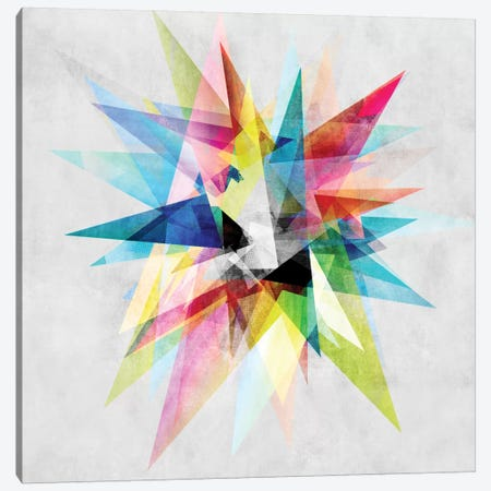 Colorful II.XZ Canvas Print #BOH10} by Mareike Böhmer Canvas Wall Art
