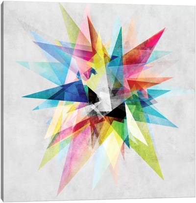 Colorful II.XZ Canvas Art Print