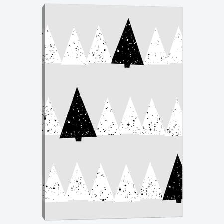 Snowy Forest Canvas Print #BOH112} by Mareike Böhmer Canvas Art