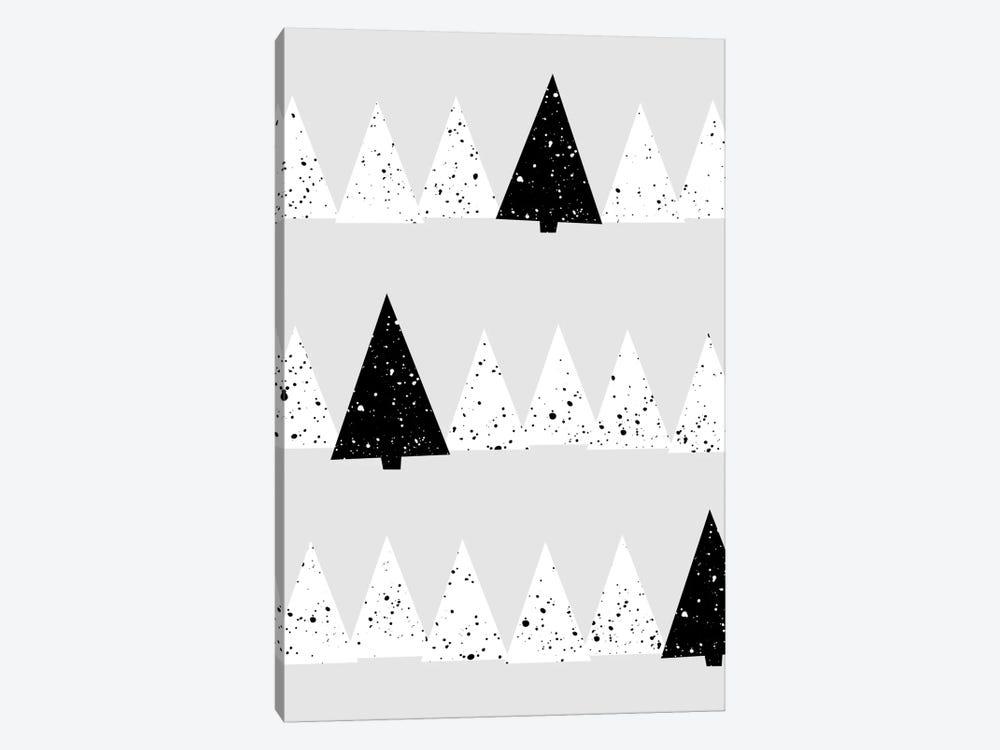 Snowy Forest by Mareike Böhmer 1-piece Canvas Art