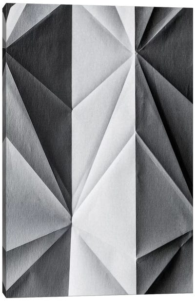 Folded Paper I Canvas Art Print