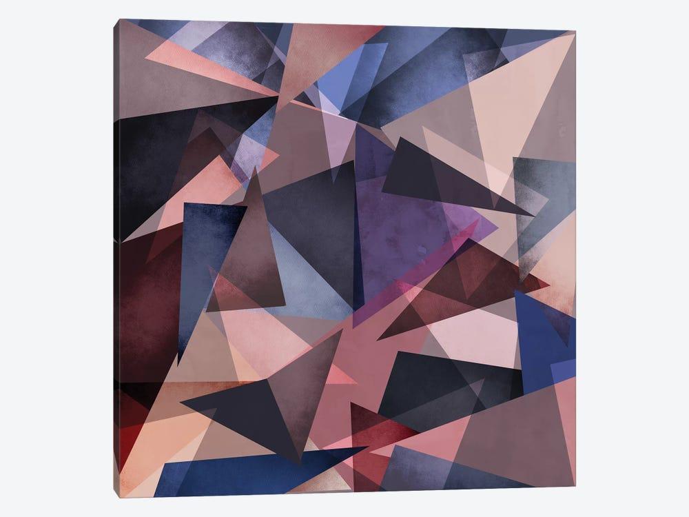 Fragments II by Mareike Böhmer 1-piece Canvas Artwork