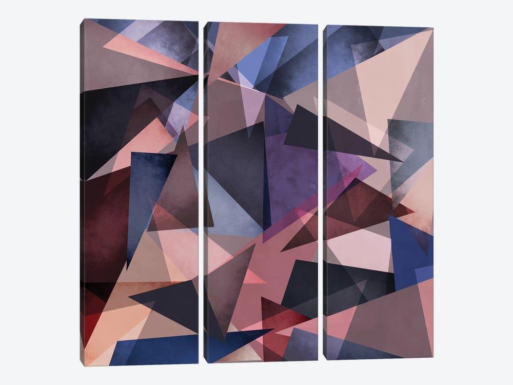 Fragments II by Mareike Böhmer 3-piece Canvas Artwork