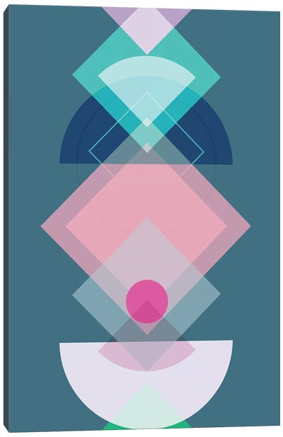 Geometric Play I Canvas Art Print