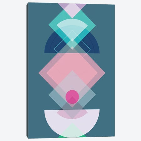 Geometric Play I Canvas Print #BOH122} by Mareike Böhmer Art Print