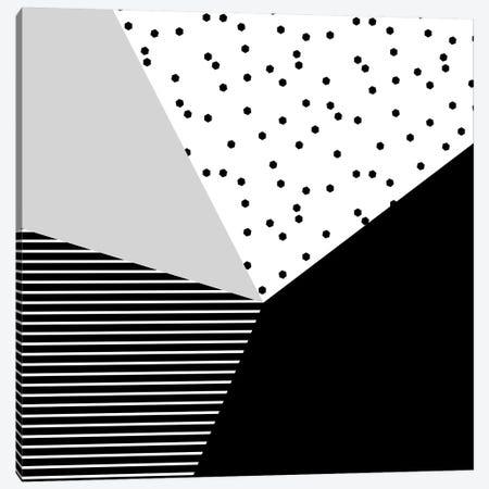 Geometry Blocks X Canvas Print #BOH125} by Mareike Böhmer Canvas Wall Art