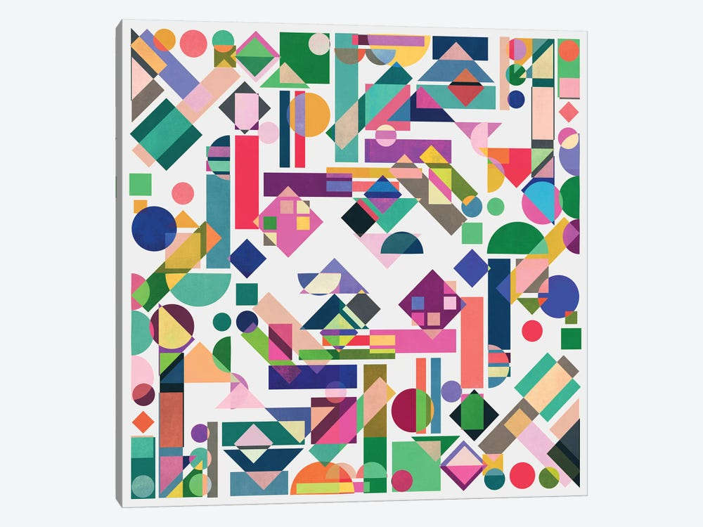Geometry II by Mareike Böhmer 1-piece Canvas Print