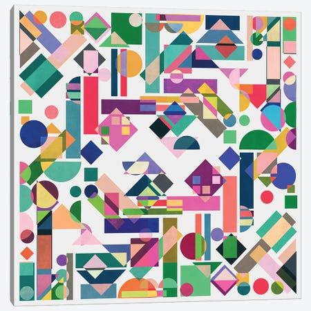 Geometry II Canvas Print #BOH126} by Mareike Böhmer Canvas Wall Art