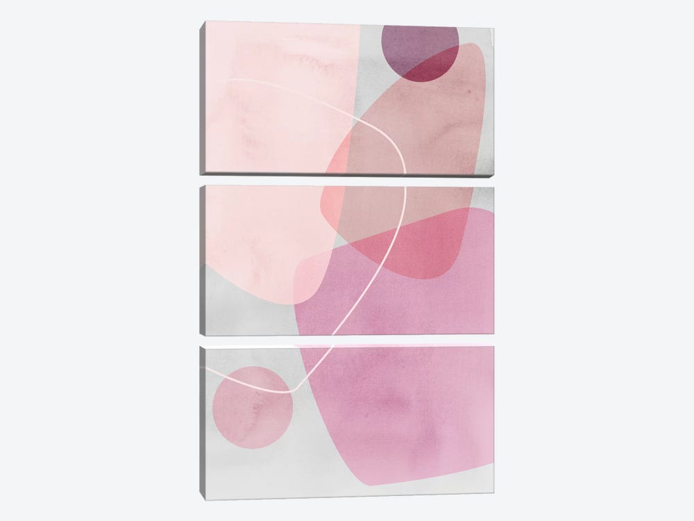 Graphic CL.G by Mareike Böhmer 3-piece Canvas Wall Art