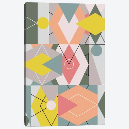 Graphic CXLV Canvas Print #BOH129} by Mareike Böhmer Canvas Print