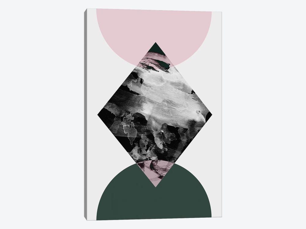 Minimalism XXI by Mareike Böhmer 1-piece Canvas Art Print