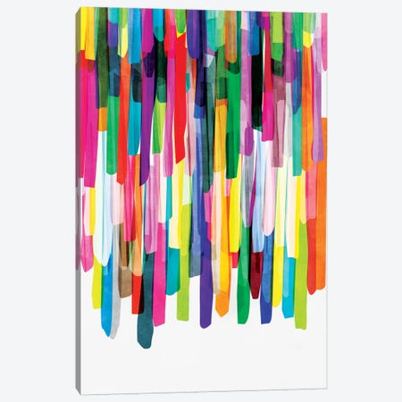 Colorful Stripes IV Canvas Print #BOH13} by Mareike Böhmer Canvas Art