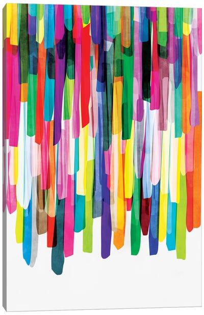 Colorful Stripes IV Canvas Art Print