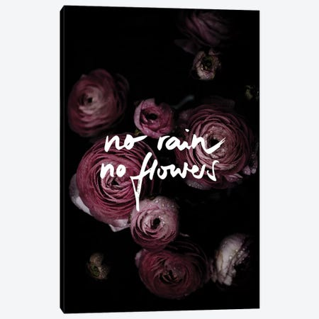 No Rain No Flowers Canvas Print #BOH140} by Mareike Böhmer Canvas Art Print