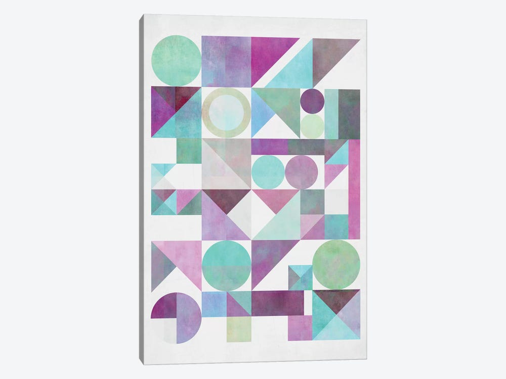 Nordic Combination XXI.X by Mareike Böhmer 1-piece Canvas Wall Art