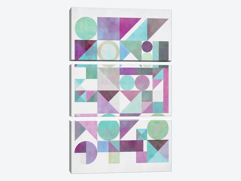 Nordic Combination XXI.X by Mareike Böhmer 3-piece Canvas Artwork