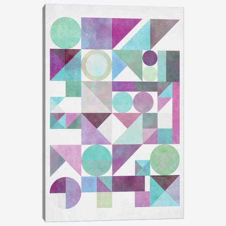 Nordic Combination XXI.X Canvas Print #BOH141} by Mareike Böhmer Art Print