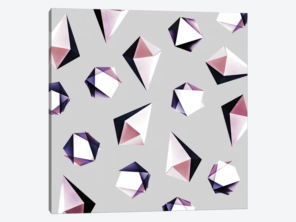 Origami V.Y 1-piece Canvas Wall Art