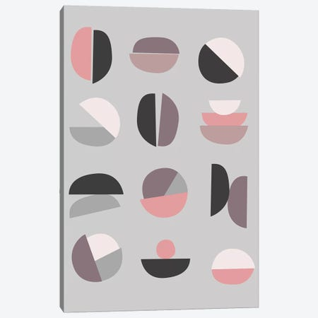 Pastel Geometry IV Canvas Print #BOH144} by Mareike Böhmer Canvas Art