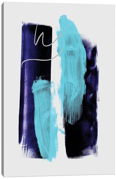 Abstract Strokes III Canvas Art Print