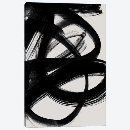 Abstract Brush Strokes V Canvas Print #BOH152} by Mareike Böhmer Canvas Artwork