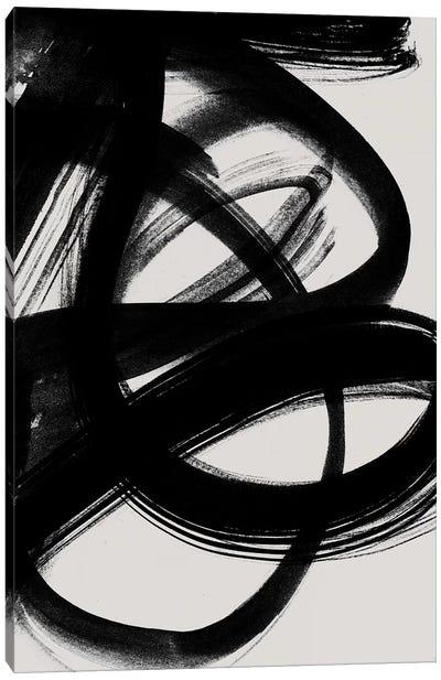 Abstract Brush Strokes V Canvas Art Print