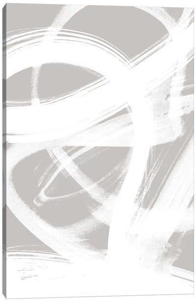 Abstract Brush Strokes VI Canvas Art Print