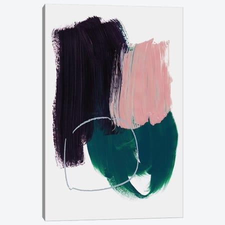 Abstract Brush Strokes X 3-Piece Canvas #BOH154} by Mareike Böhmer Art Print