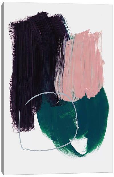Abstract Brush Strokes X Canvas Art Print