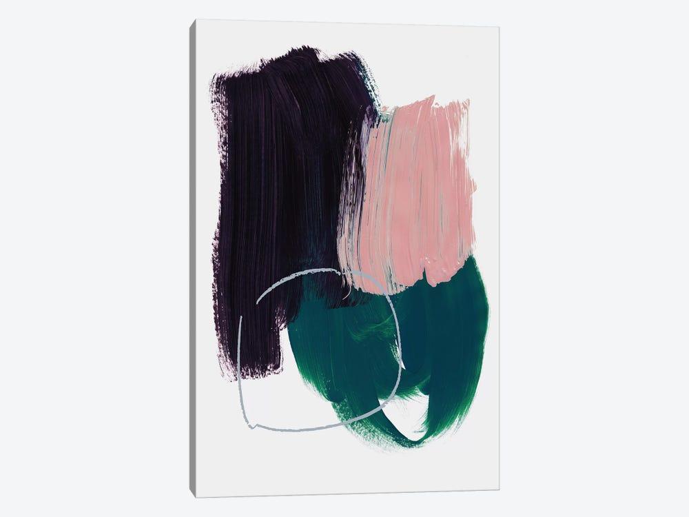 Abstract Brush Strokes X by Mareike Böhmer 1-piece Canvas Art