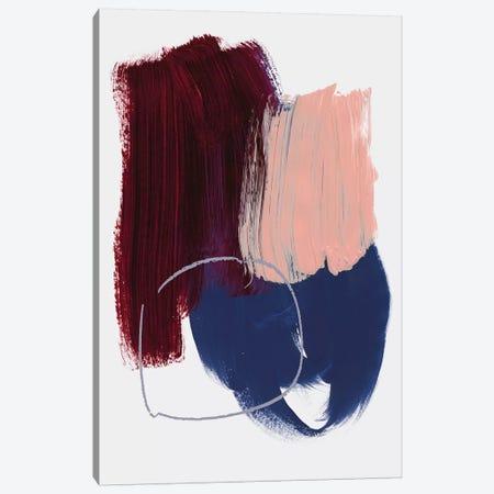 Abstract Brush Strokes X-X Canvas Print #BOH155} by Mareike Böhmer Canvas Art Print