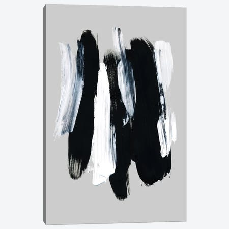 Abstract Brush Strokes XII 3-Piece Canvas #BOH156} by Mareike Böhmer Canvas Art Print