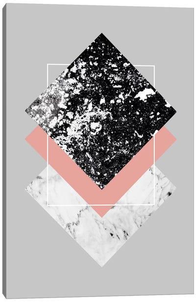 Geometric Textures I Canvas Art Print