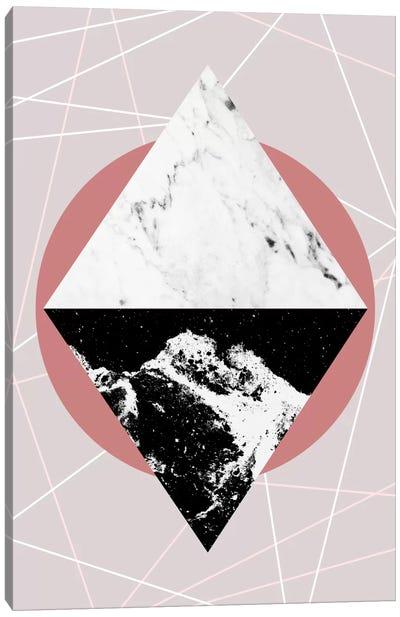 Geometric Textures III Canvas Art Print