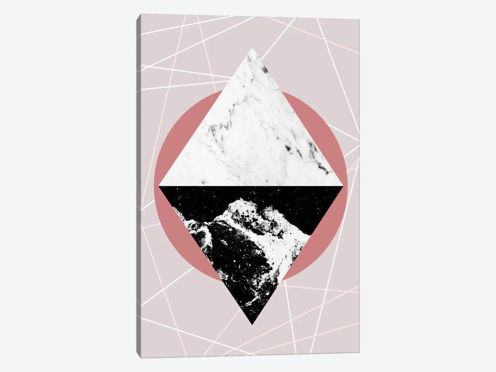 Geometric Textures III by Mareike Böhmer 1-piece Canvas Artwork