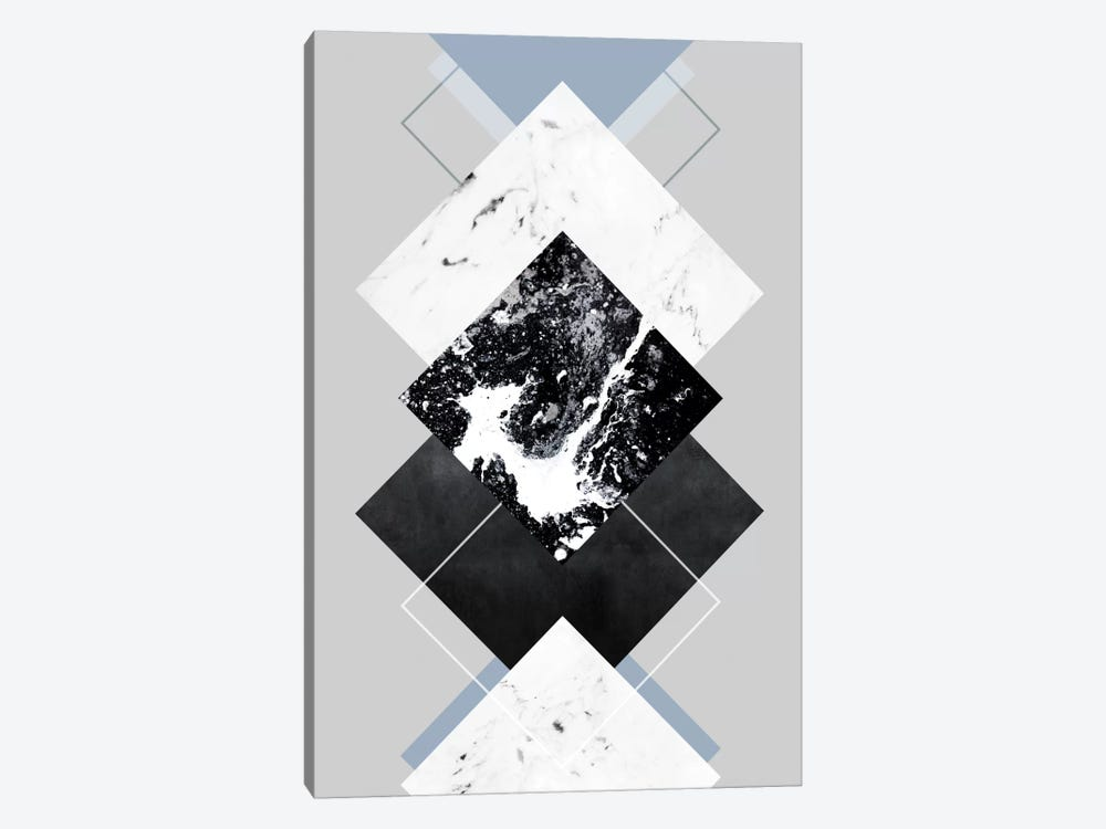 Geometric Textures V by Mareike Böhmer 1-piece Canvas Art