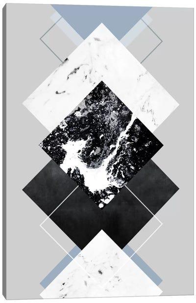 Geometric Textures V Canvas Art Print