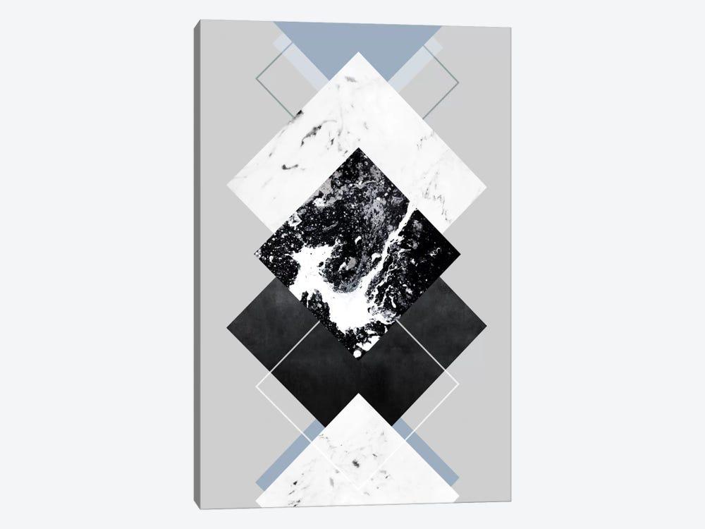 Geometric Textures V by Mareike Böhmer 1-piece Canvas Art