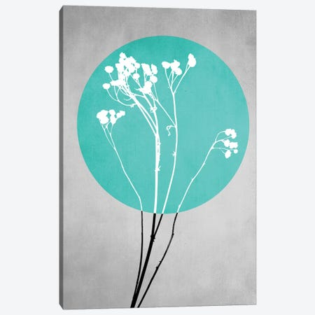 Abstract Flowers I Canvas Print #BOH1} by Mareike Böhmer Canvas Print