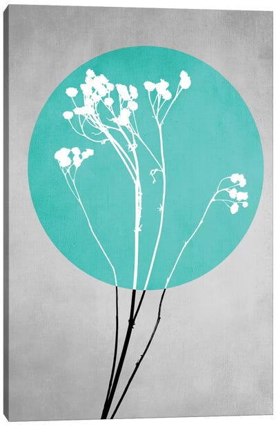 Abstract Flowers I Canvas Art Print