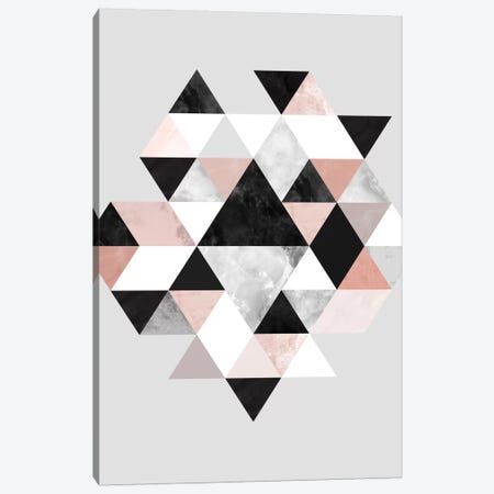 Graphic CCII Canvas Print #BOH24} by Mareike Böhmer Canvas Artwork