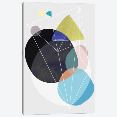 Graphic CLXXIII Canvas Print #BOH30} by Mareike Böhmer Canvas Wall Art